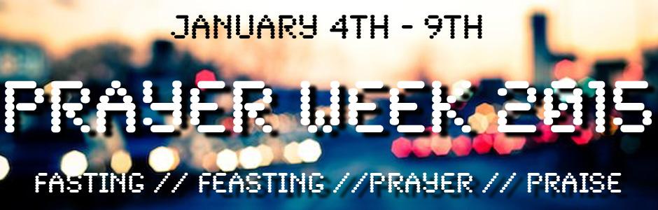 Prayer Week 2015