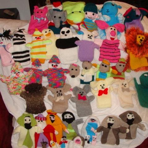 Burkina Puppets