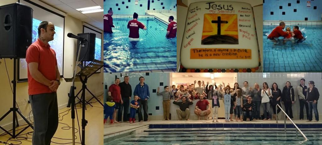 Lloyd's Baptism Montage