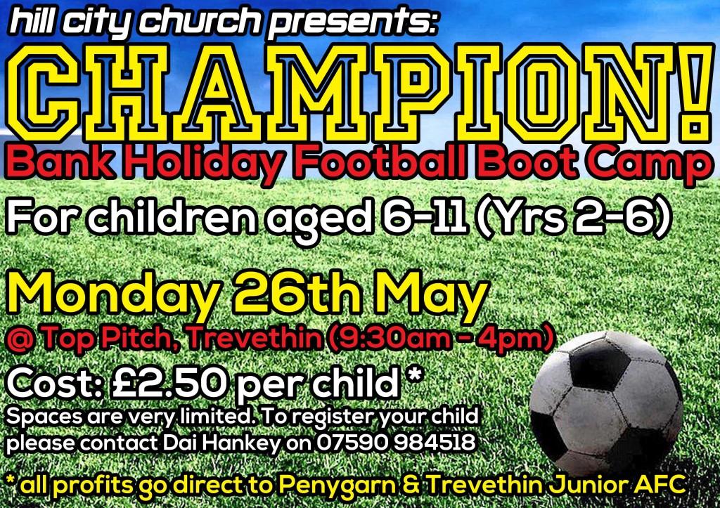 Champion Football Camp